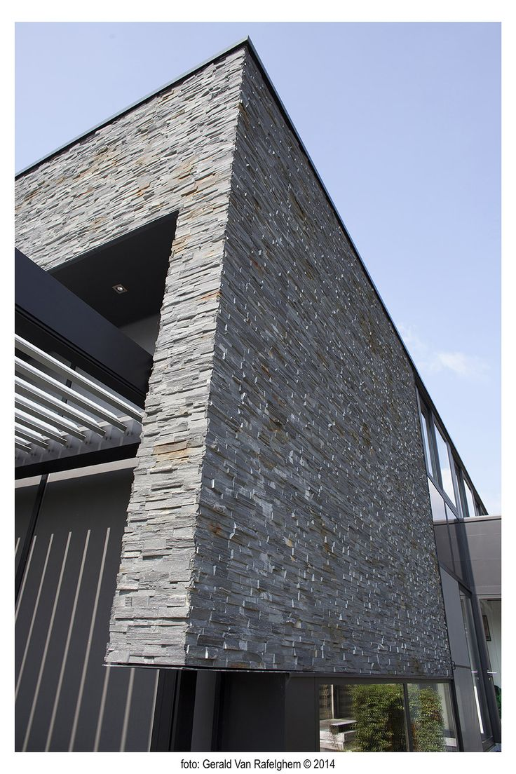 Beltrami Natuursteen/ Natural Stone - Ardesia Nera stoneskin - gevelbekleding/ Facade