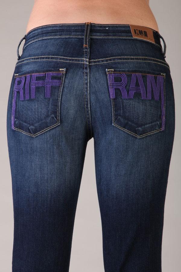 RIFF RAM jeans!!!  Go TCU!
