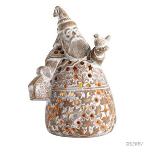 Decor - Santa Claus Holiday Lantern