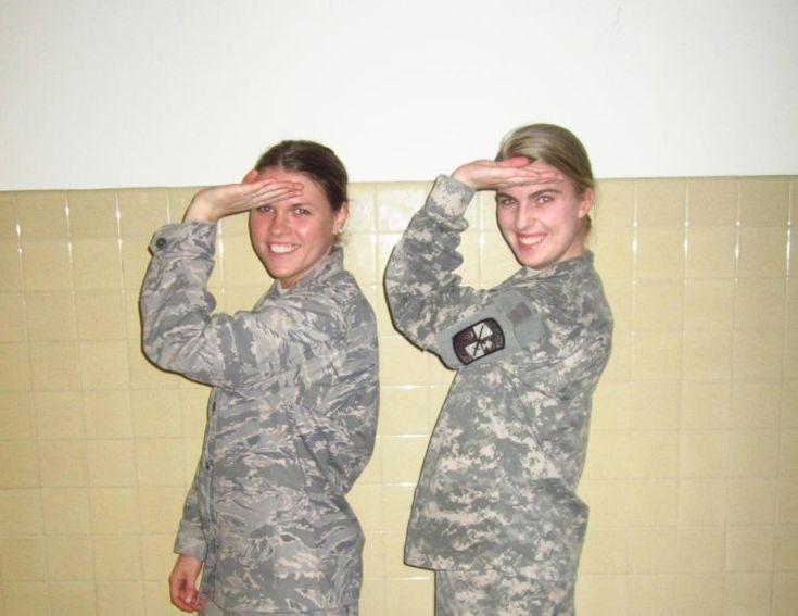 Sisters who serve.
