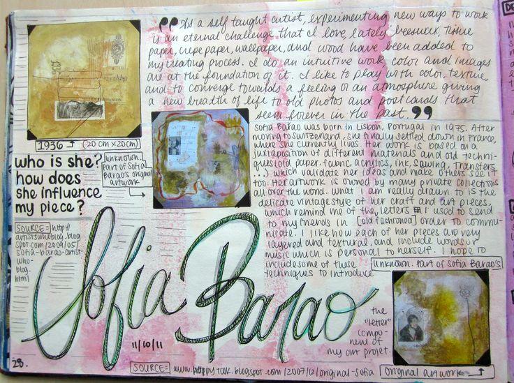 Ib Art Workbook Examples | Mrs. Emery-Moores Art Site » IB Art Year I