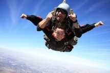 Skydiving - Skydive Central Bloemfontein. Only ten minutes outside Bloemfontein, we offer skydiving to all experience levels: tandem skydives, static line course, accelerated freefall courses and progressive freefall training. Also display jumps anywhere in the Free State and Northern Cape.