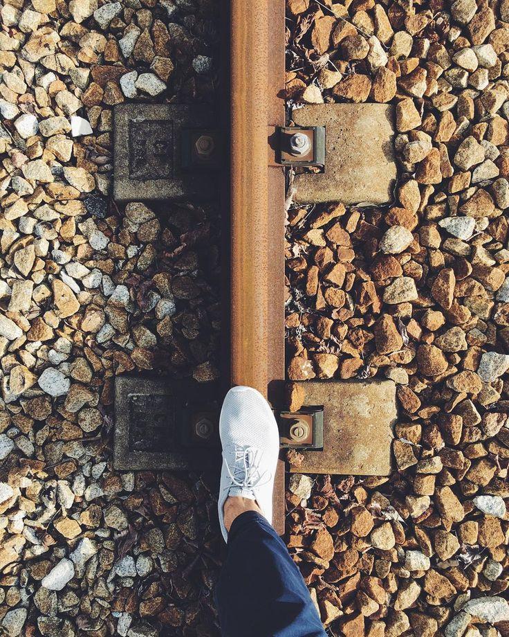 #nike #trainrail #railway #foot #urban #urbanphotography #city #lisboa #walk…