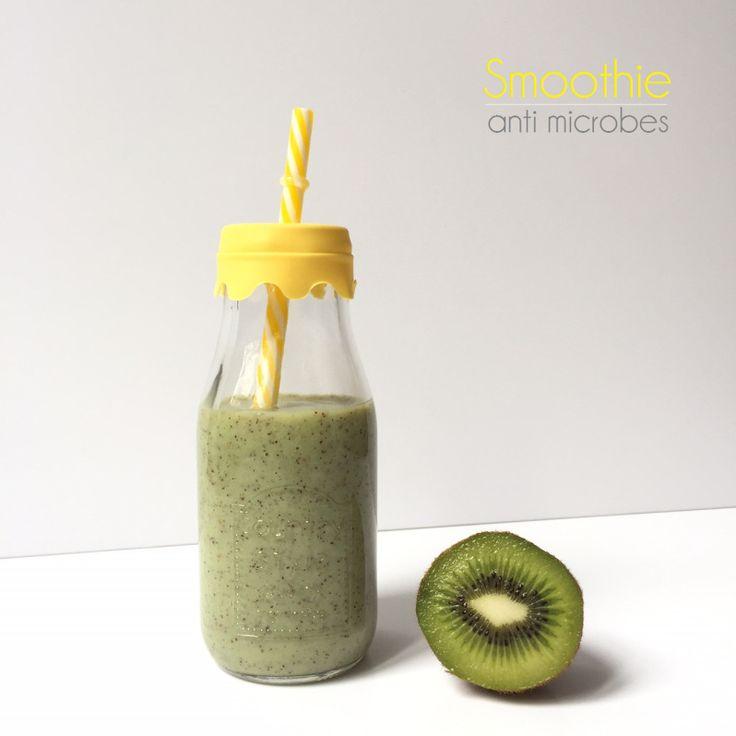 {Recette} Smoothie anti-microbes!