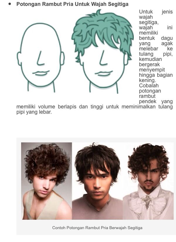 2 of 3 hairstyle appropriate head shape