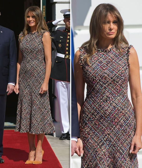 melania trump fashion style dress