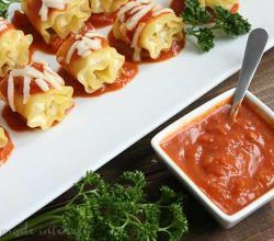 Flavor-Filled Mini Lasagna Rolls Recipe