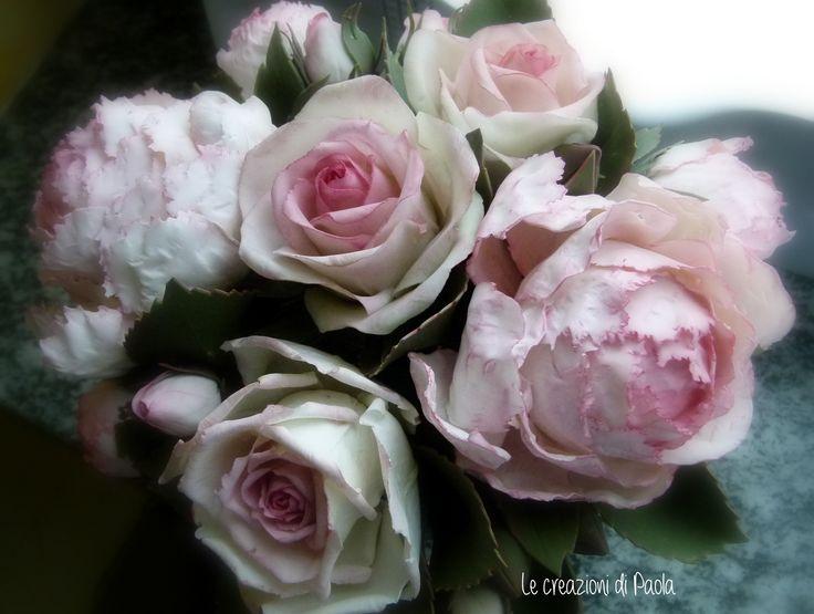 Composizione rose e peonie!