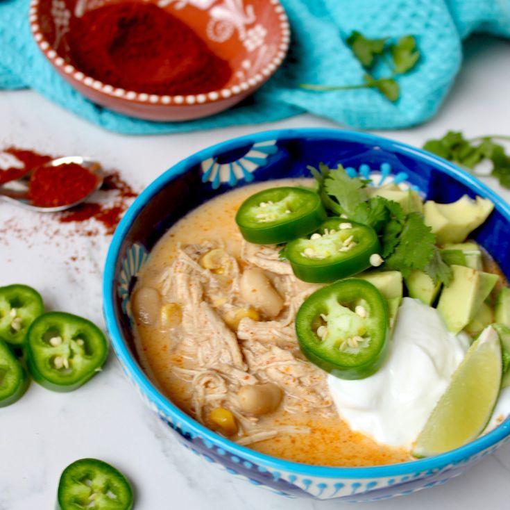 White Chicken Chili   #recipe #recipeoftheday #whitechickenchili #chili #chilirecipe