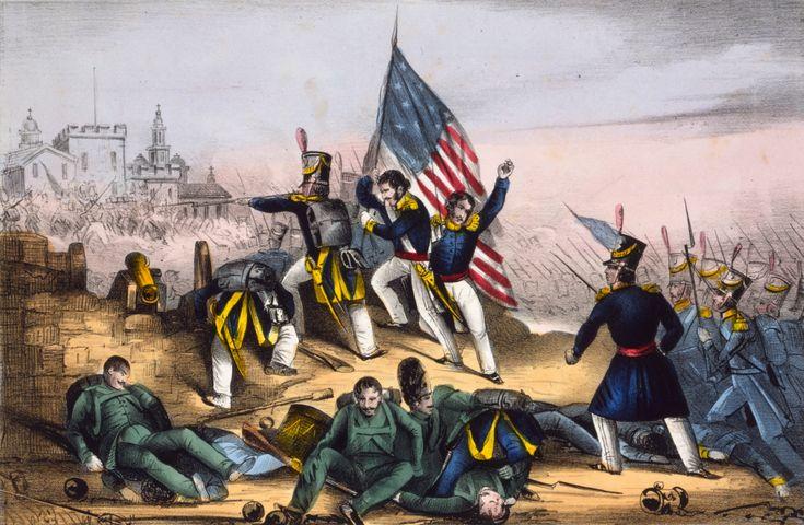 AMERICAN FLAG @ZOCALO, MEXICAN AMERICAN WAR - Google Search