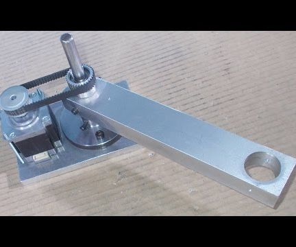 Homemade Scara Robot Arm DIY Robotic Frame Projects Chassis Aluminium Alloy Part 1