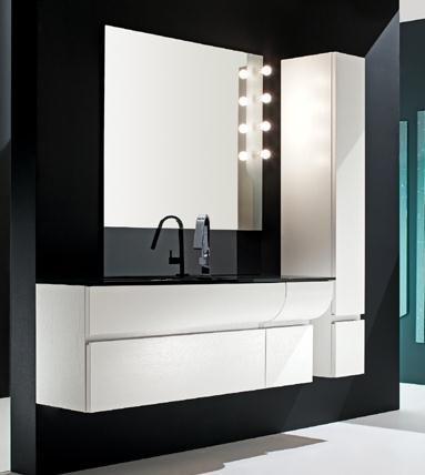 Elegant Wall Mounted Linen Cabinet