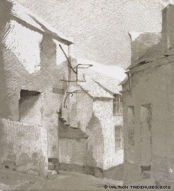 Schjerfbeck, Helene  St. Ives, ajoittamaton