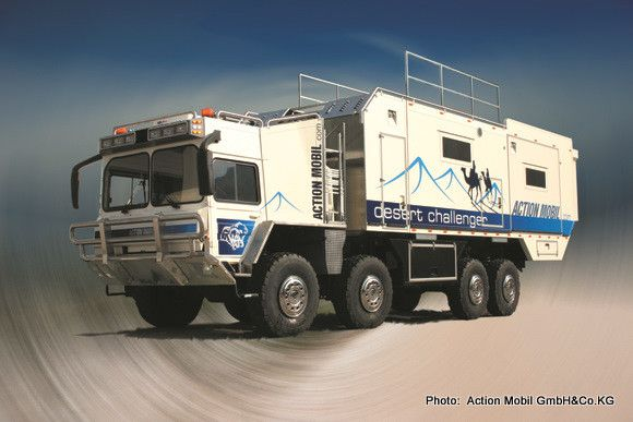 Action Mobil – based in Saalfelden am Steinernen Meer in Austria – produce ground-breaking two, three and four axle off-road expedition vehicles for the world market.