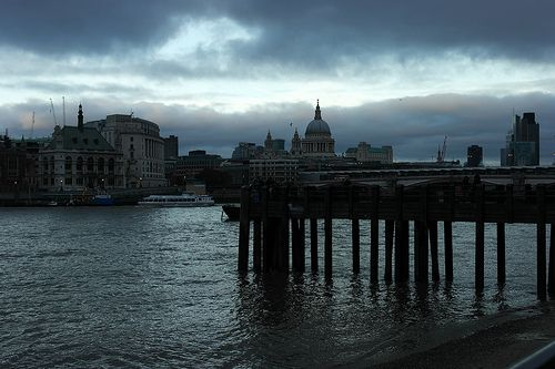 A southbank stormy skies