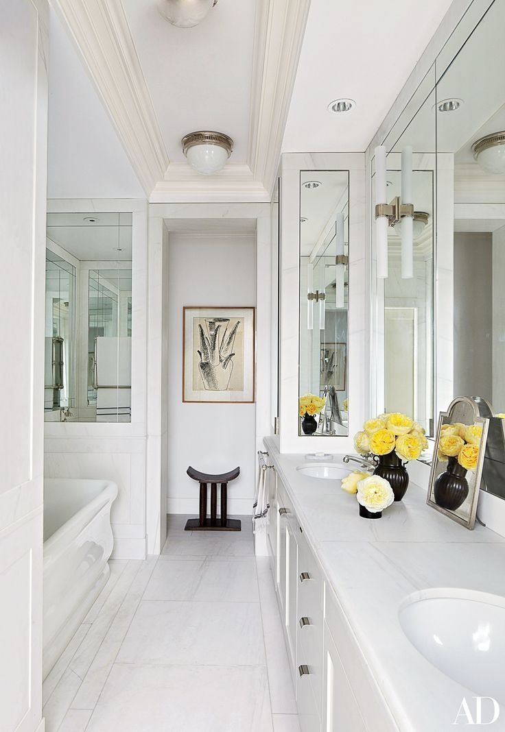 22 Luxury Bathrooms in Celebrity Homes Luxus badezimmer