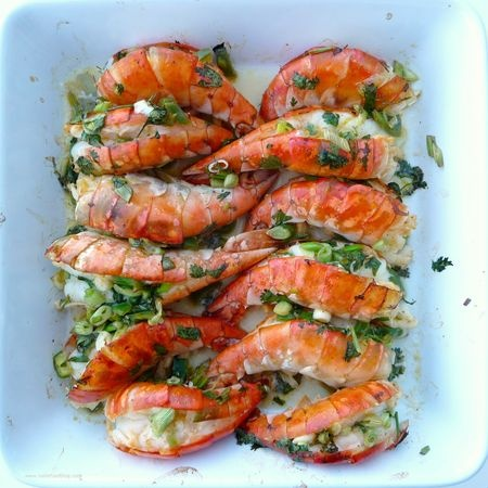Oven Roasted Colossal Shrimp