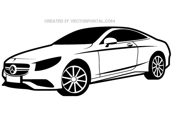 Mercedes Benz Vector Image Free Vectors Pinterest