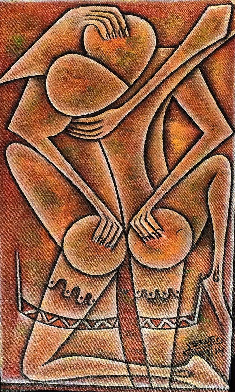 by Mozambican artist Yssuro