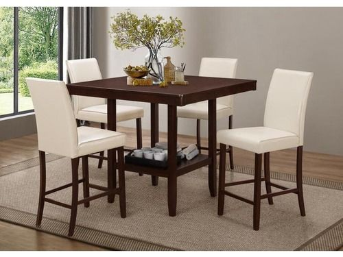 Elegant Bar Height Dining Room Table
