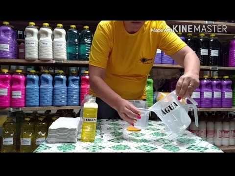 Como fazer produtos de limpeza (Detergente Ozolimp)