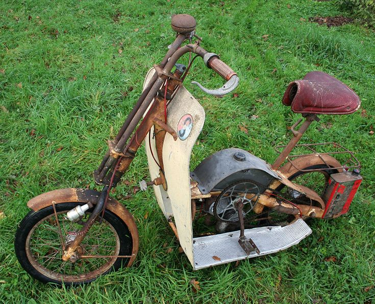 1950 Scoto Bicycle Scooter 20