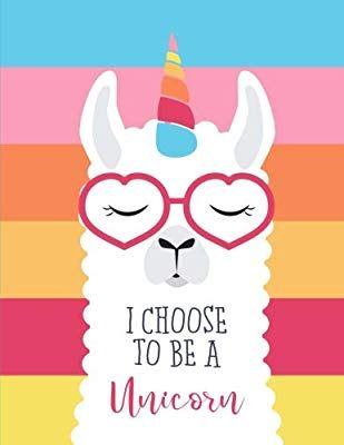 e3df6bf5 Amazon.com: I Choose To Be a Unicorn: Extra Large Sketchbook for Artists  and Students; Sketching, Doodling, Writing, Drawing, Painting 8.5x11 ( Sketchbooks) ...