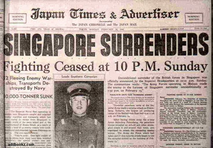 """18 Likes, 1 Comments - Mohamad Fared Malek (@mohamad_fared) on Instagram: """"February 15, 1942, The fall of Singapore was one of the worst military disasters in modern history…"""""""
