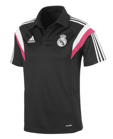 real madrid training polo black Real Madrid Official Merchandise Available at www.itsmatchday.com