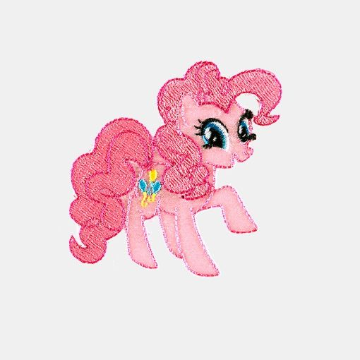 Patch 75x75mm My Little Pony 1pc