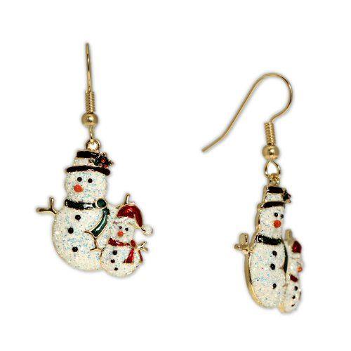 Sparkly Snowman and Snowchild Earrings in Gold Tone, Cele... https://smile.amazon.com/dp/B00G4RT22A/ref=cm_sw_r_pi_dp_x_xuZmybSE9E101