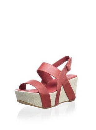 67% OFF Antelope Women's Wedge Sandal (Red)