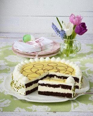 Das Rezept für Biskuittorte mit Eierlikörsahne und weitere kostenlose Rezepte auf LECKER.de