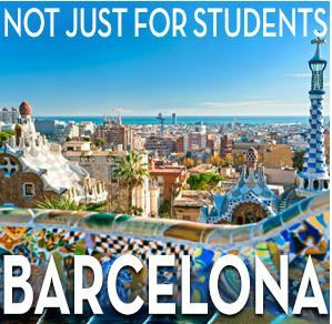 Visitor accommodation in Barcelona's student residences
