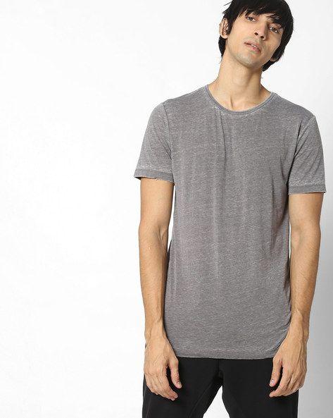56a2813ec8e562 Buy Grey Tshirts for Men by VOI JEANS Online   Ajio.com   ajio   T ...