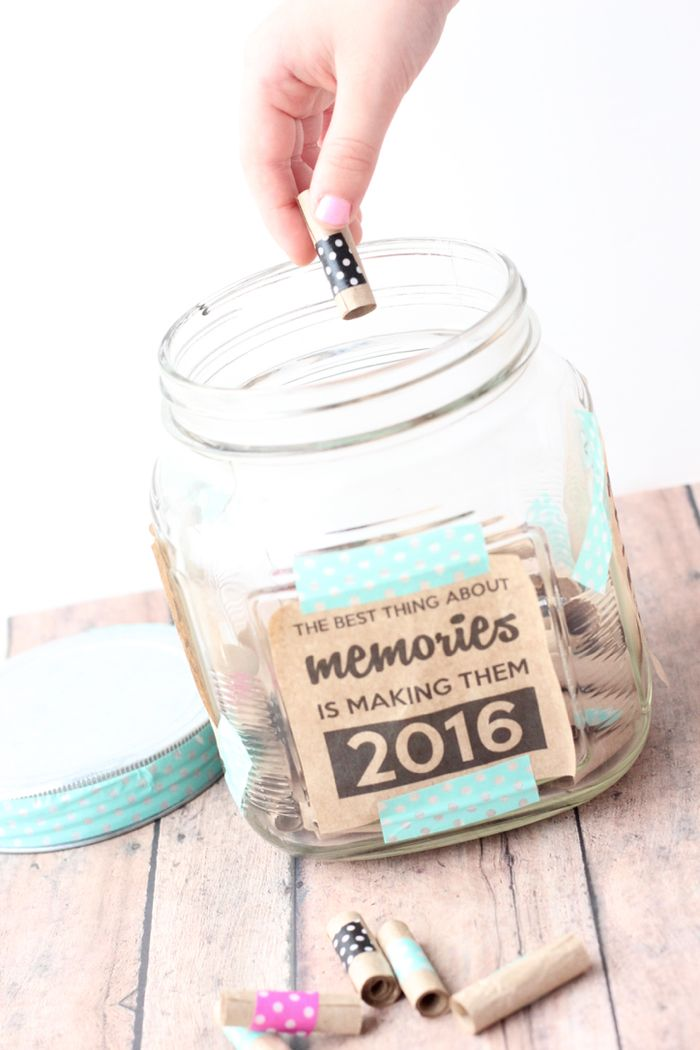 Collect moments with a Memory Jar!