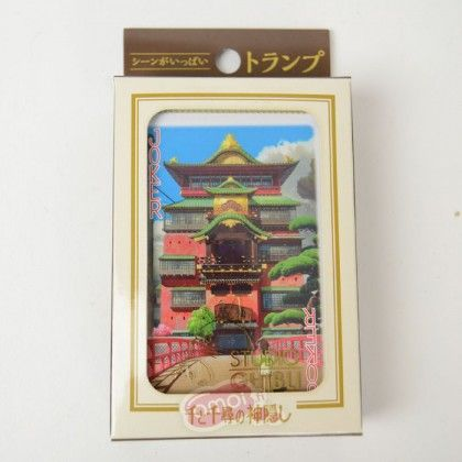 Studio Ghibli: Spirited Away Playing cards