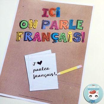 Ici on parle français POSTERS