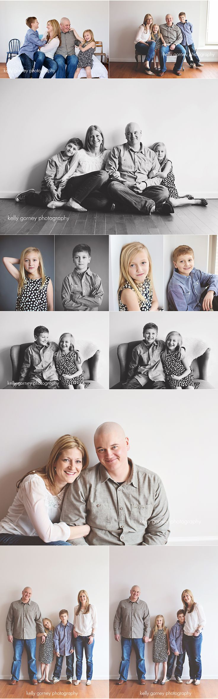 Studio Family Session | Kelly Gorney Photography