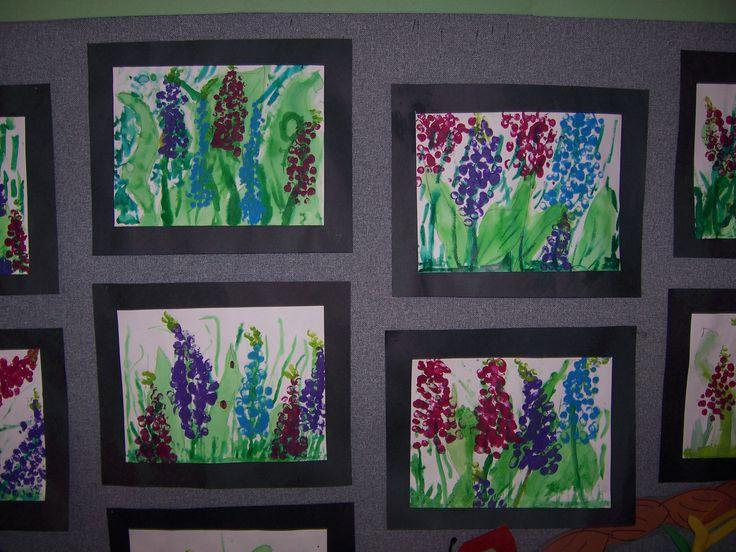 Miss Rumphius Paint Project