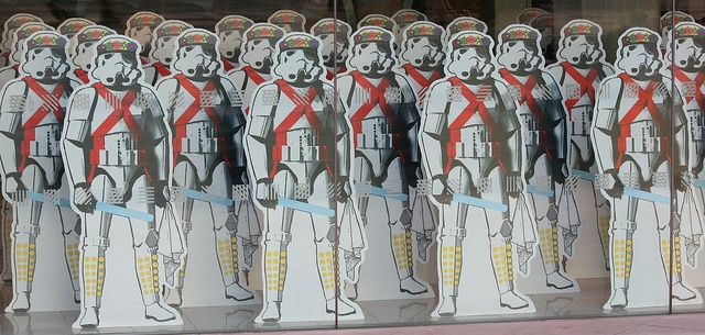 Attack of the Morris Dancing Storm Troopers