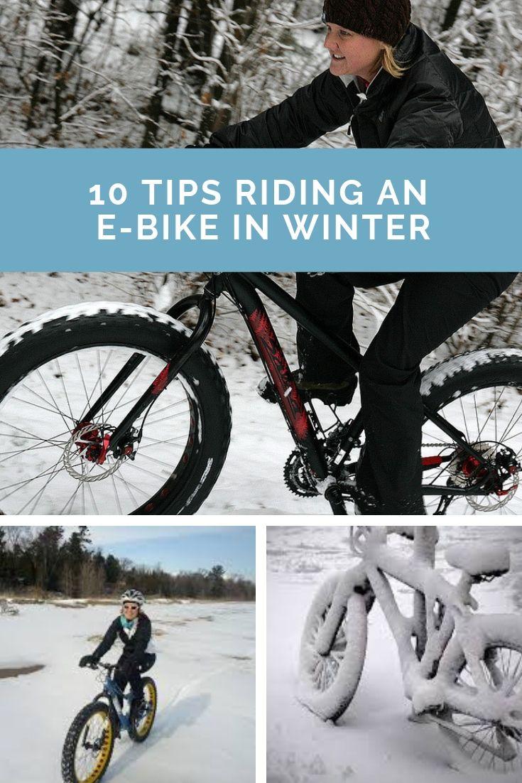 10 Tips Riding An E Bike In Winter Bike