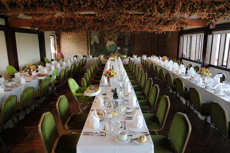The wedding breakfast at Kent Life