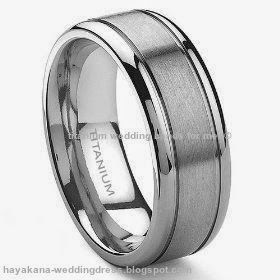 titanium wedding bands for men