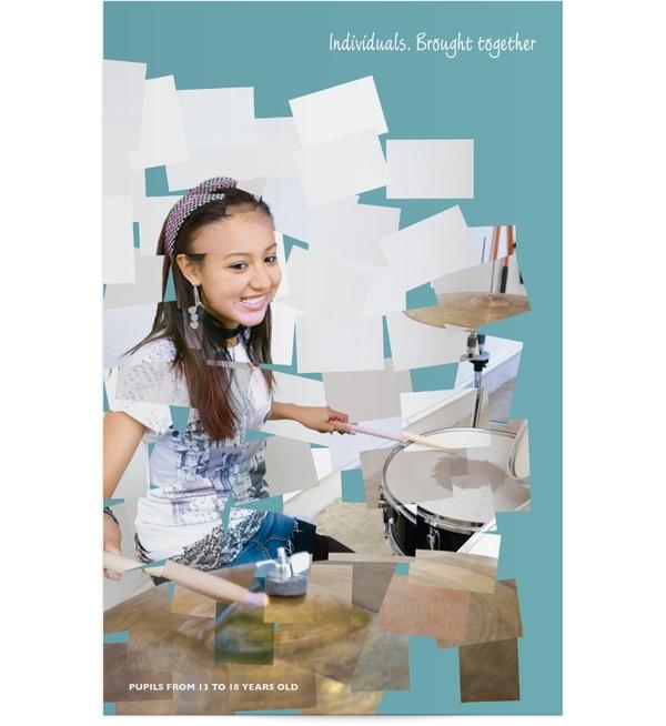Concept School Prospectus' by Tom Ovens, via Behance