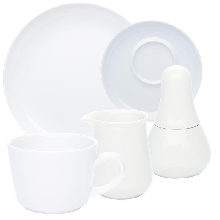 Five Senses Kaffeeservice weiß, KAHLA Porzellan