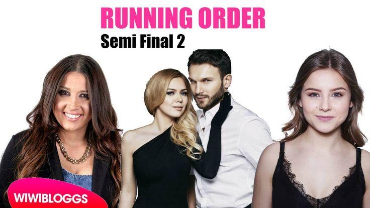 Semi Final 2 Running Order (Eurovision 2015): Sweden 13th, Slovenia 16th...