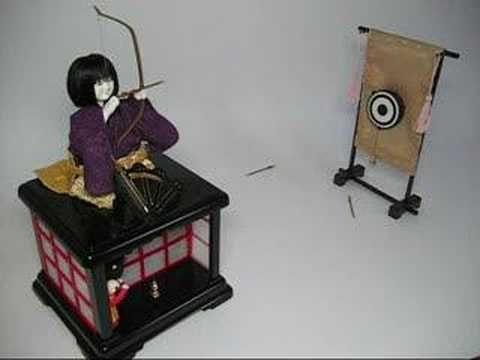 からくり人形 karakuri doll