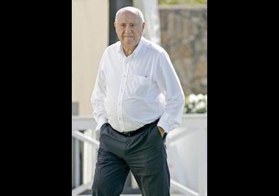 Amancio Ortega - Vermögen: 57 Mrd. US Dollar