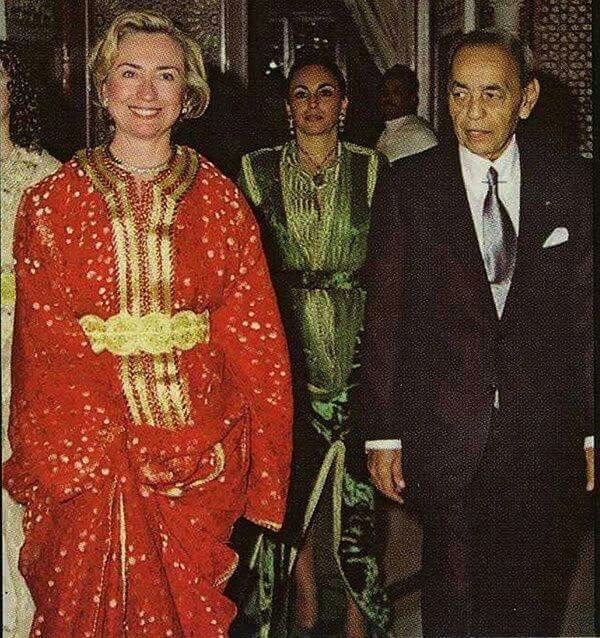 Feu Hassan2 et Hillary Clinton